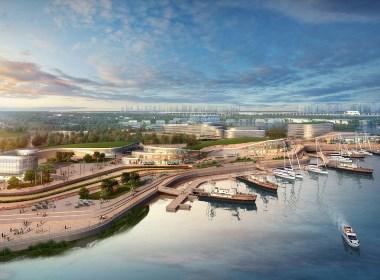 港口码头设计案例效果图