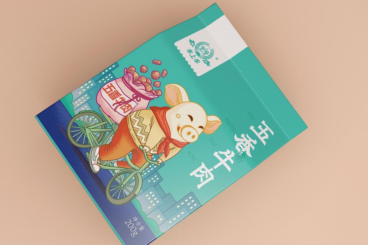 猪IP包装设计