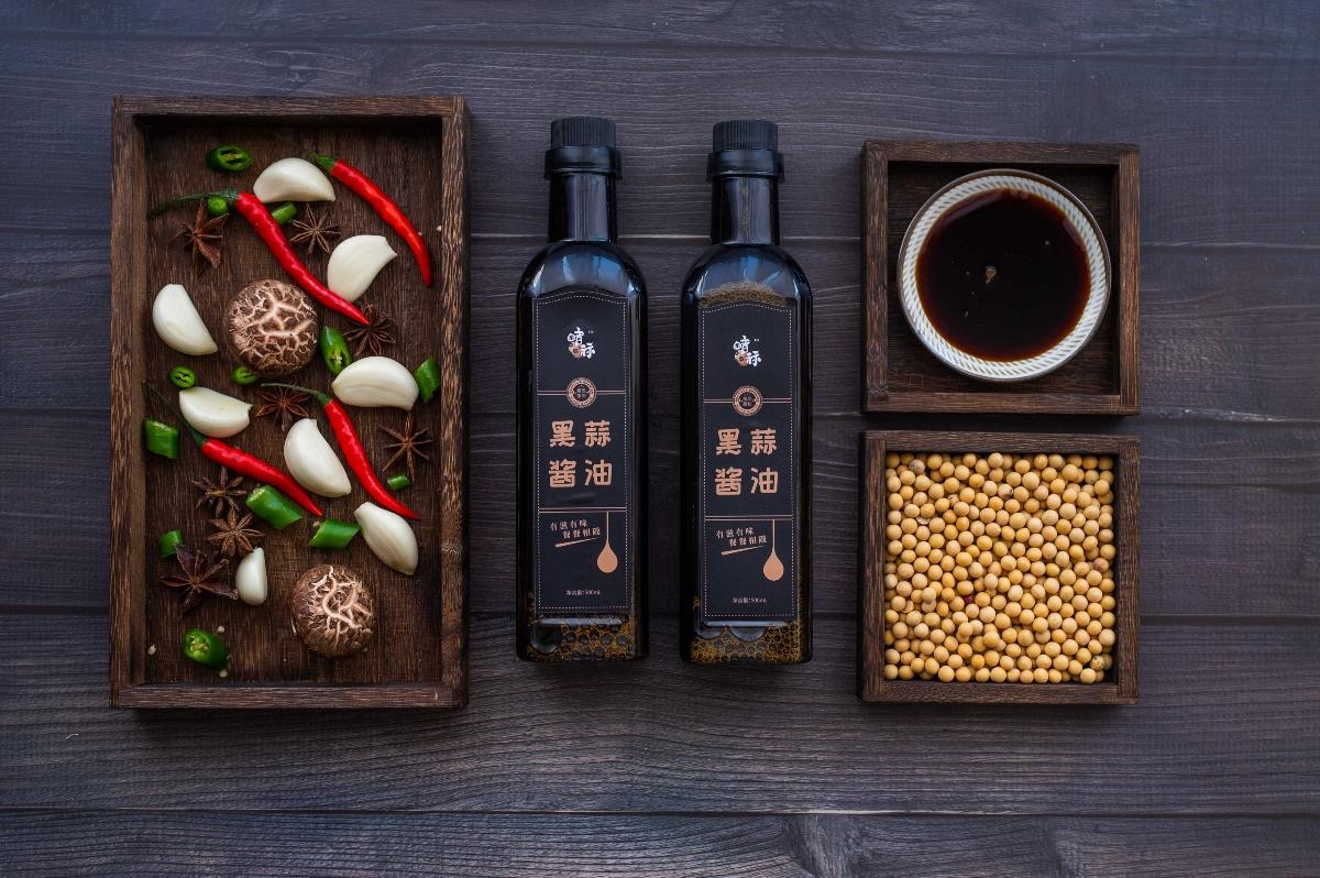 黑蒜产品全套系列——黑蒜酱油实景拍摄🎬