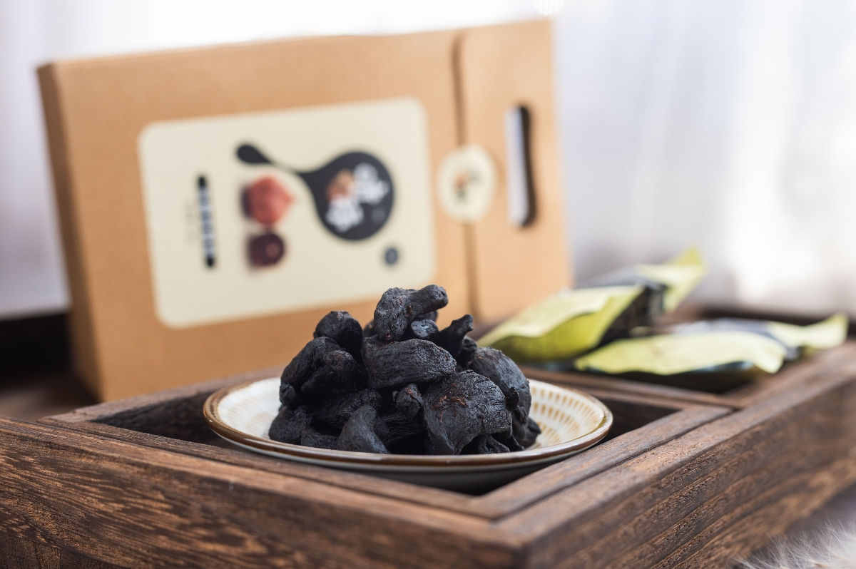 黑蒜产品全套系列—独头和多瓣黑蒜盒装实景拍摄🎬