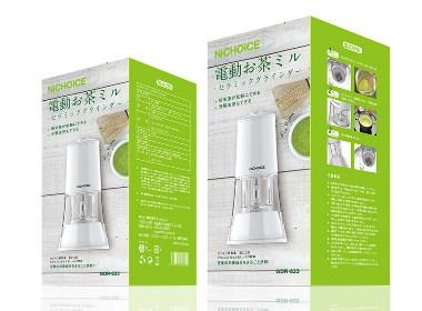 日式厨房小家用电器包装设计