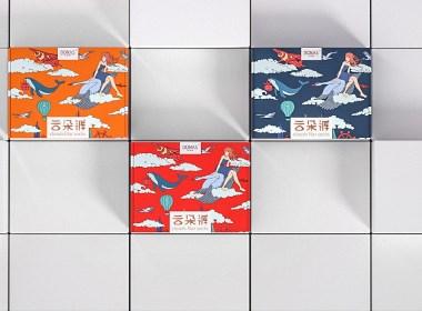 云朵裤|包装设计|丝袜包装/创意包装/日用品包装