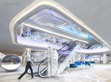 WINSUN | 盈信广场导视系统设计