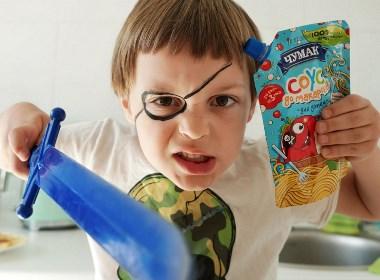 儿童食品品牌标志设计