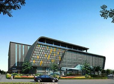 工厂办公楼.企业办公楼设计案例效果图
