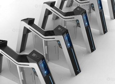 更为安全快速的通关,人行通道智能闸机设计不可或缺