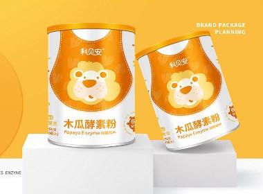 婴童益生菌固体饮料包装设计