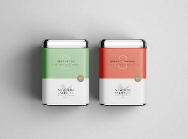 茶叶金属包装盒设计