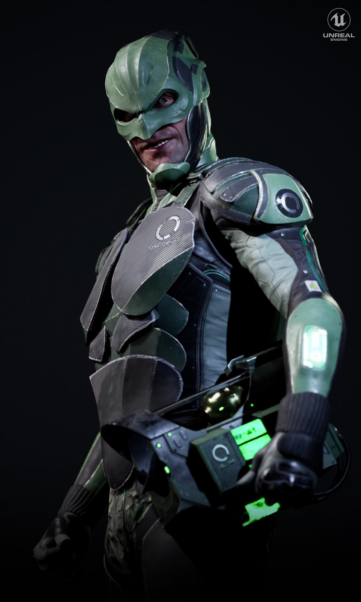 绿精灵实时角色设计