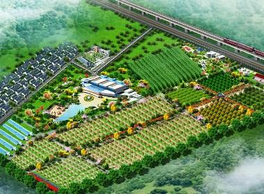 农业观光旅游生态园设计案例效果图