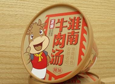 淮南牛肉汤包装设计/速食包装设计