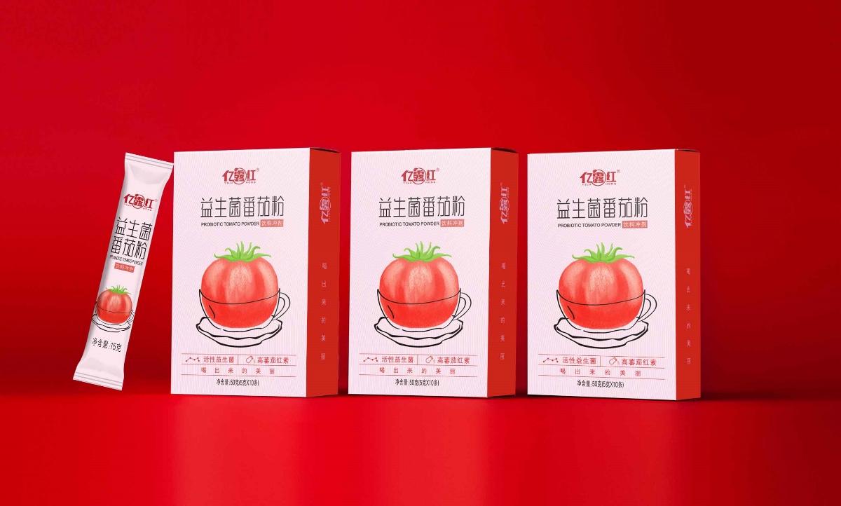 益生菌番茄粉包装设计