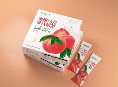 蜜桃乌龙奶茶固体饮料 · 生命初元 / 刘益铭 × 原创作品