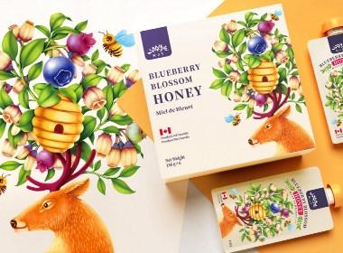 高鹏设计——加拿大R.J.T.蜂蜜食品包装设计
