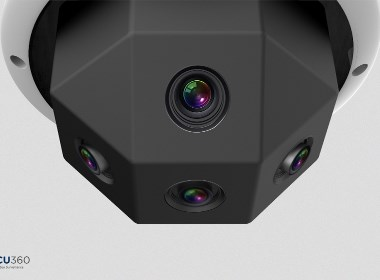 超广角监控摄像头