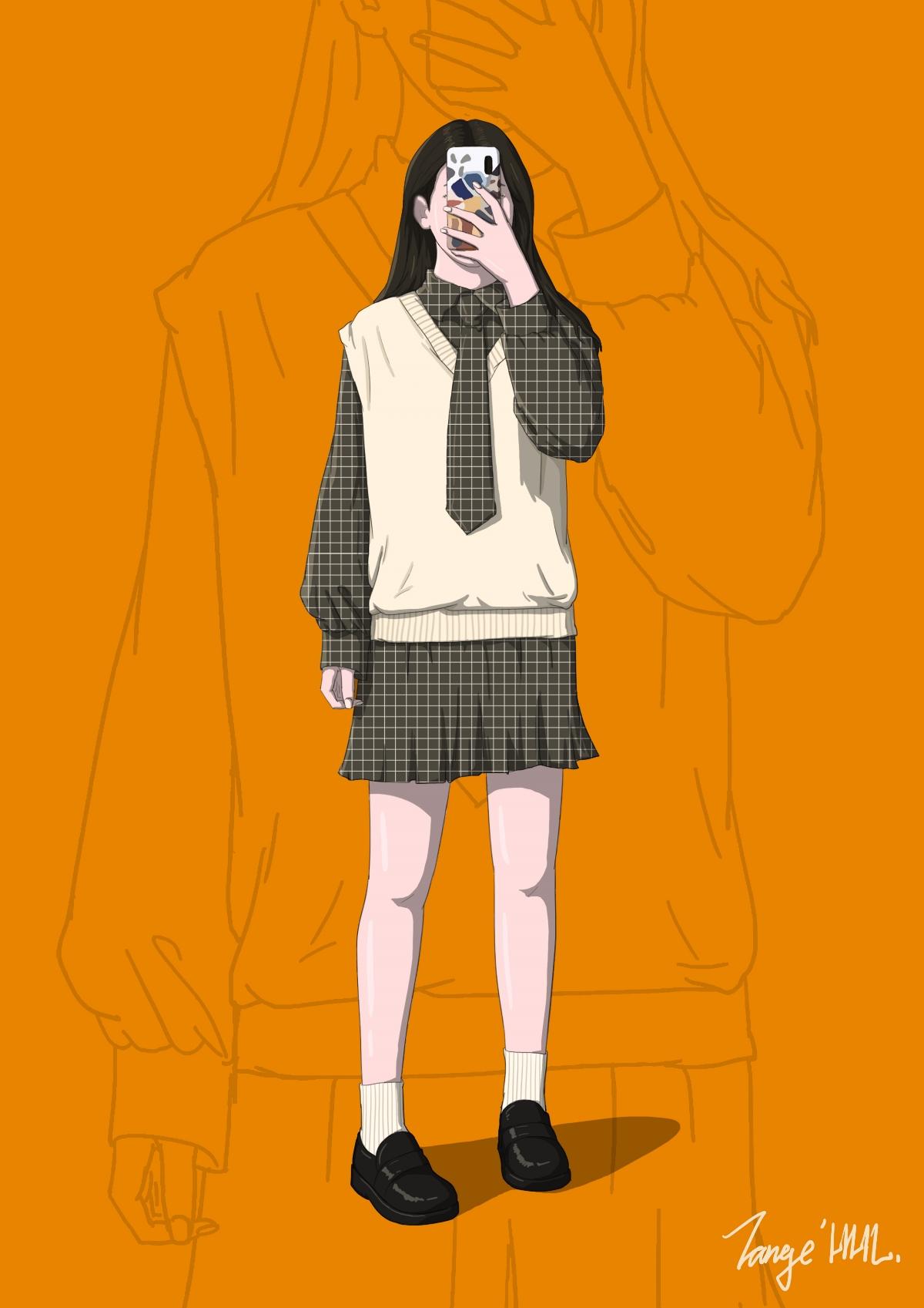 人物形象系列插画