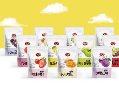 百纳出品 | 佳梦食品·炒货蜜饯系列包装设计案例