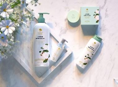 有机山茶油日化美妆包装设计/一道设计原创作品