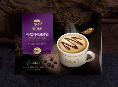 包装设计×咖啡×伽伦咖啡(云南小粒咖啡)×至美火麒麟