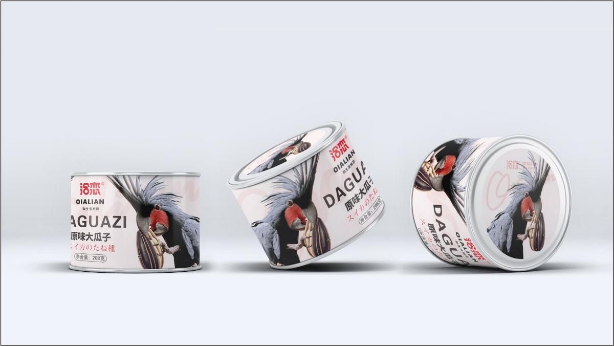 造塑创意 × 洽恋瓜子包装设计
