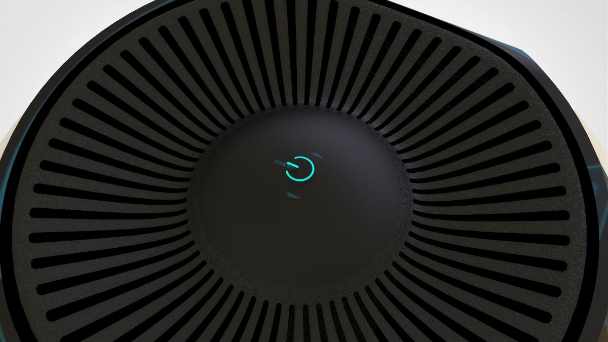 智能空气净化器(产品外观设计)已申请专利