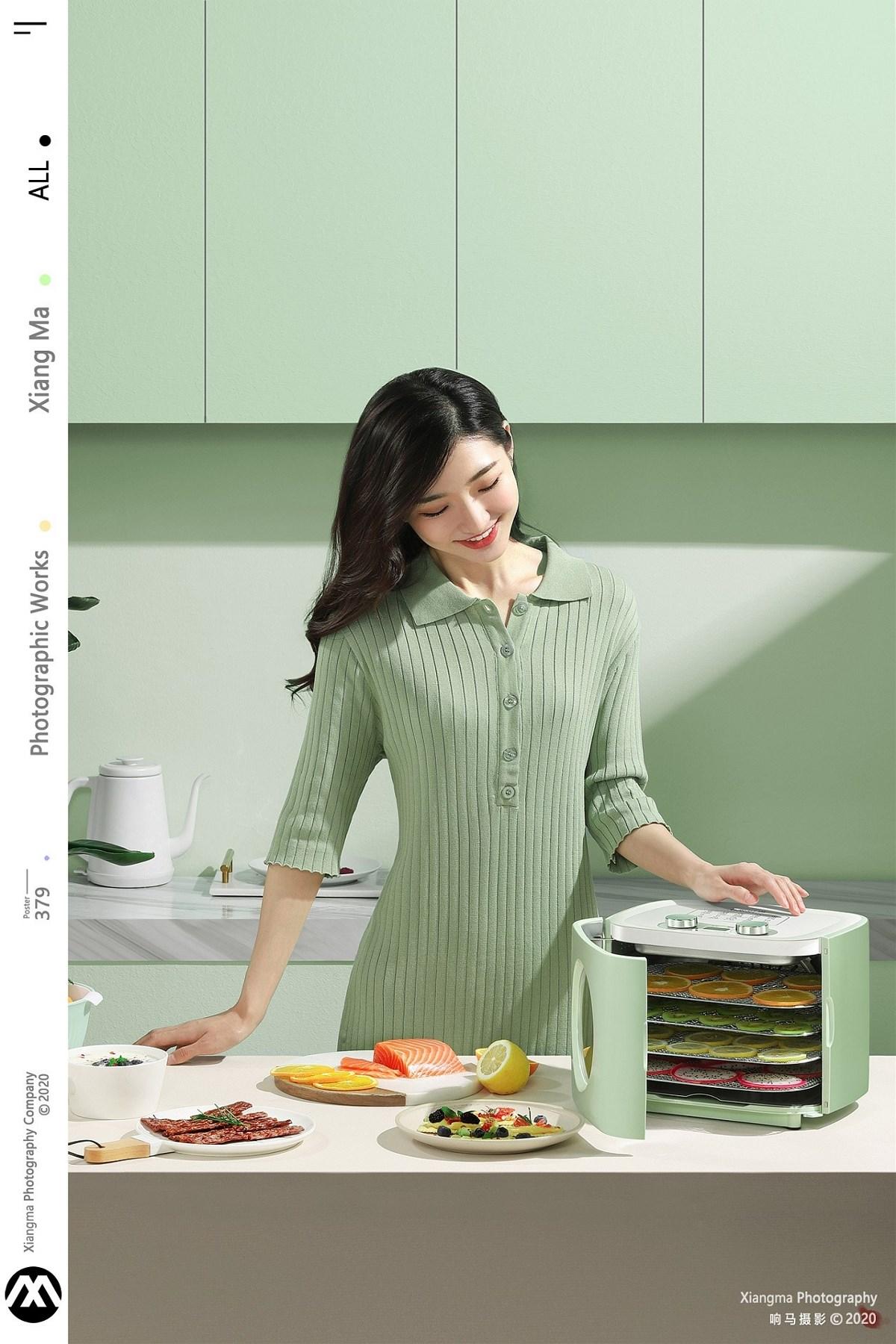 产品拍摄:七彩叮当烘干机