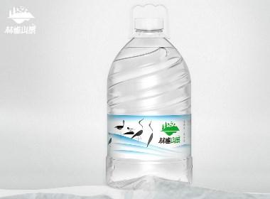 林雀山泉桶裝礦泉水品牌包裝設計