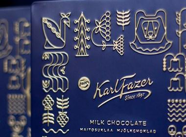 巧克力插画包装设计