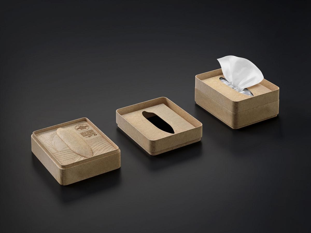 一款可以重复使用的大米包装设计