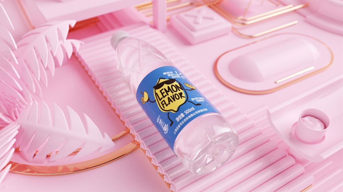 百事可乐 莹纯系列果味水饮料