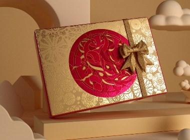 歌斐颂巧克力礼盒设计包
