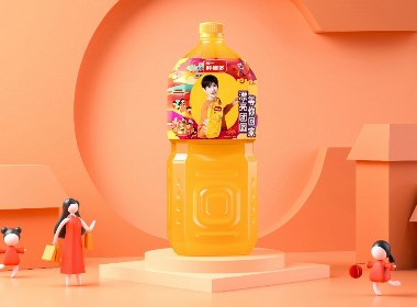 统一鲜橙多CNY系列包装设计