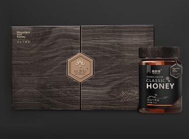 秦珍臻蜂蜜包装设计