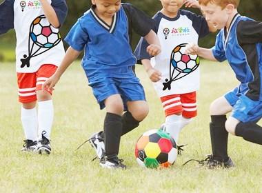 放学啦少儿足球俱乐部品牌设计