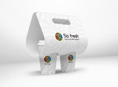 巨灵设计:法国餐饮品牌设计