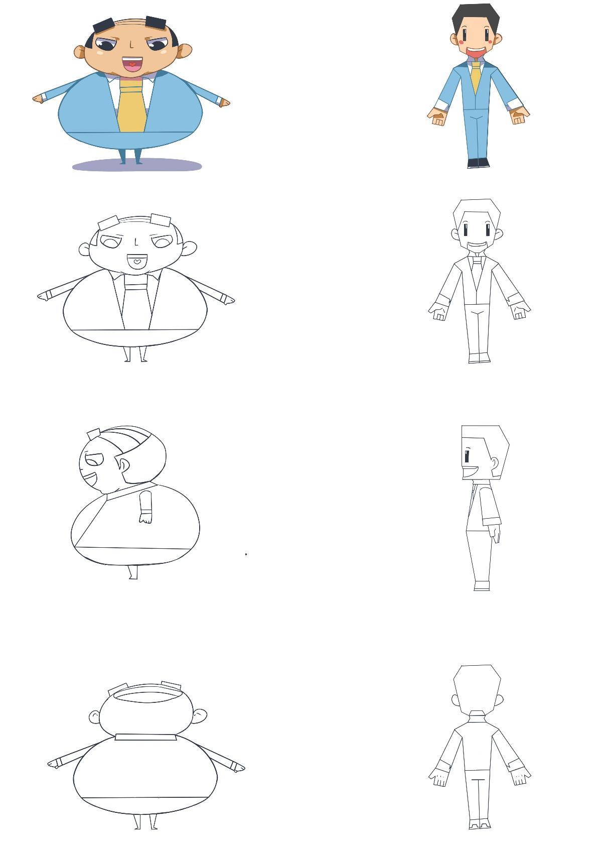 萌月文化VI吉祥物设计