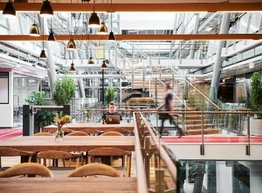 郑州专业办公室装修公司-居家氛围共享办公室装修设计