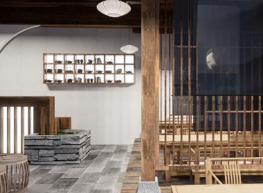 茶苑——重庆茶园茶室设计