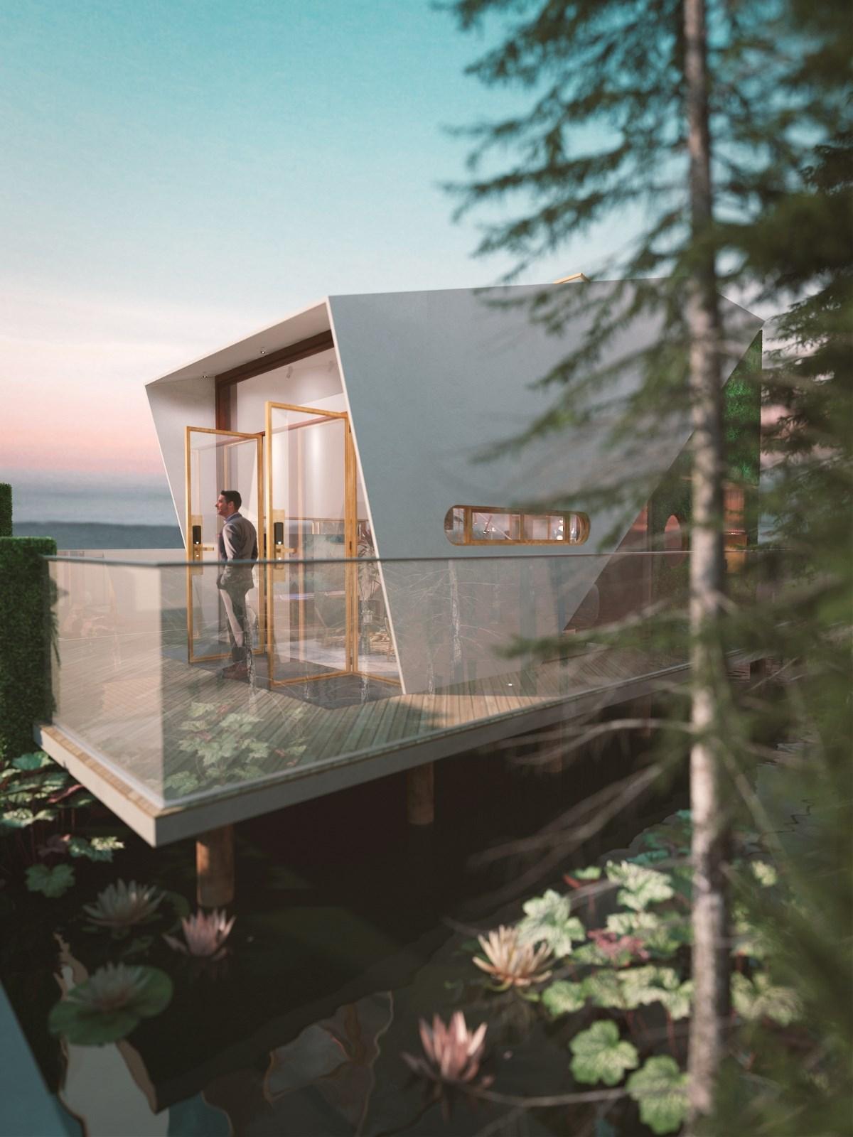 微馆 - 可装配式建筑以及整体室内设计