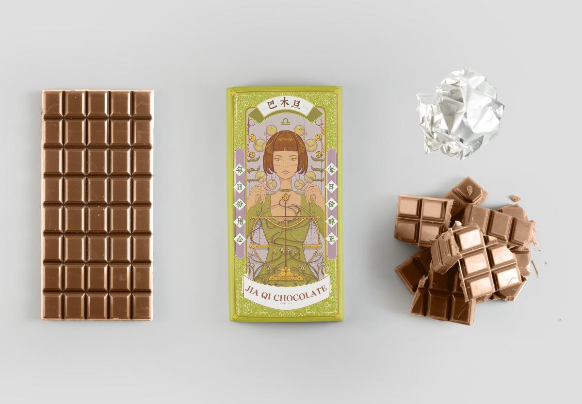 十二星座巧克力包装 (金牛座 天平座)