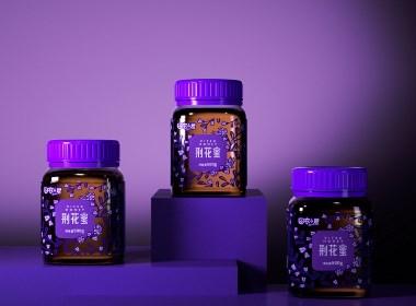 农山君|花果蜂蜜包装设计|若非设计 www.rufydesign.com