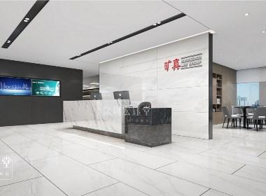 郑州知名律师事务所现代简约风办公室装修案例