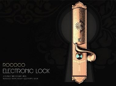 哈士奇设计 - 复古电子锁