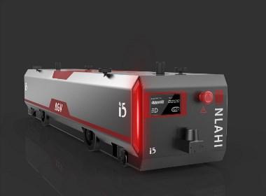 哈士奇设计 双向潜伏式AGV