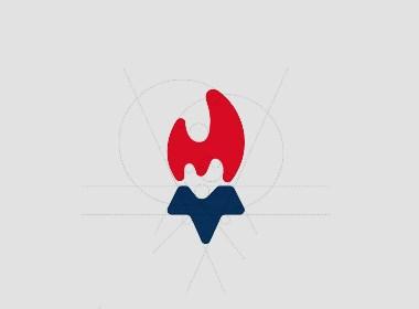 April作品「明阳跆拳道」俱乐部品牌logo设计