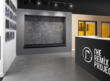 郑州办公室装修公司-多功能办公空间装修设计图