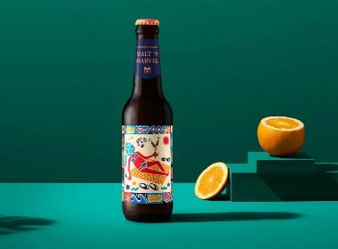 帅气的品牌设计 | 包装 插画 酒 食品 美食 手绘 自然