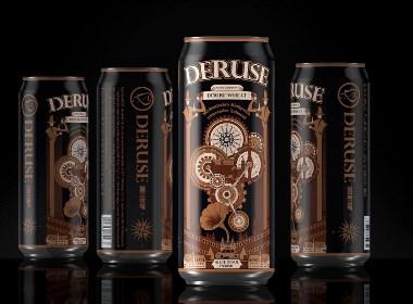 易拉罐装——德式精酿啤酒包装设计|厚启设计