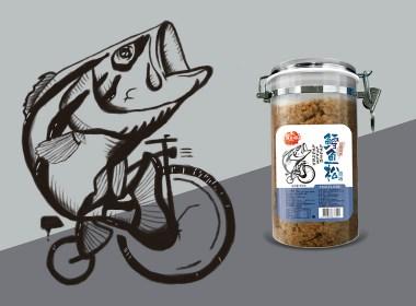 思羿策划【肉松】日式包装设计