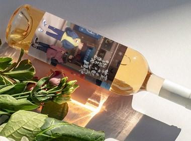 乾生元桂花酿米酒包装设计纯手酿造米酒包装设计方案